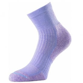 1000 Mile Two Season Performance Walking Socks Purple