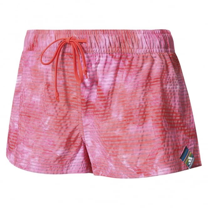 Adidas All Over Print Water Short Pink