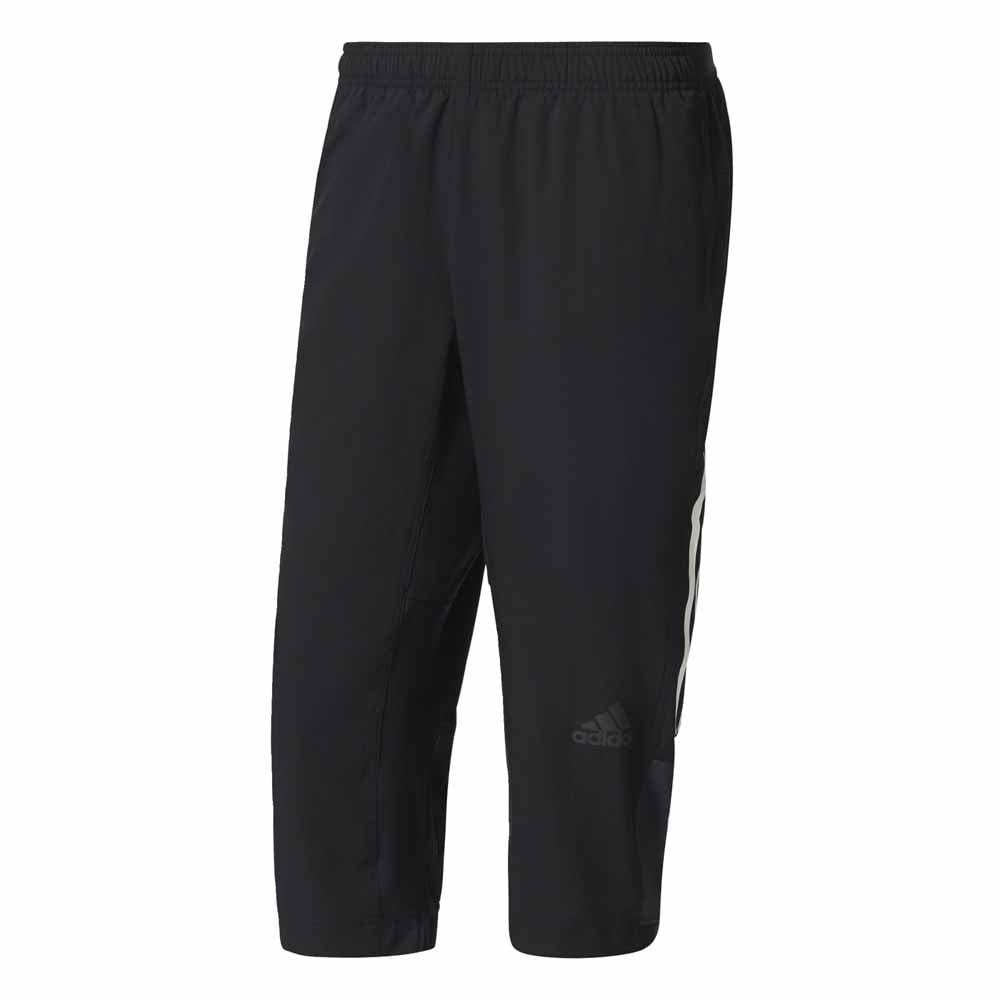 0678275ca3d0 Adidas Climacool Three-Quarter Workout Pants Black - Running from ...