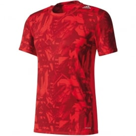 Adidas Techfit Base Fitted Graphic Tee