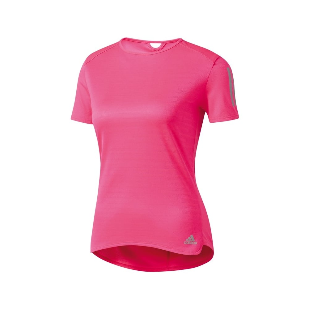 a5775e22eee Adidas ADIDAS Women's Response Tee Pink - Running from The Edge ...