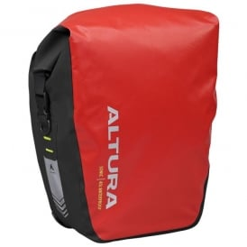 Altura Sonic 40 Waterproof Pannier Pair Red