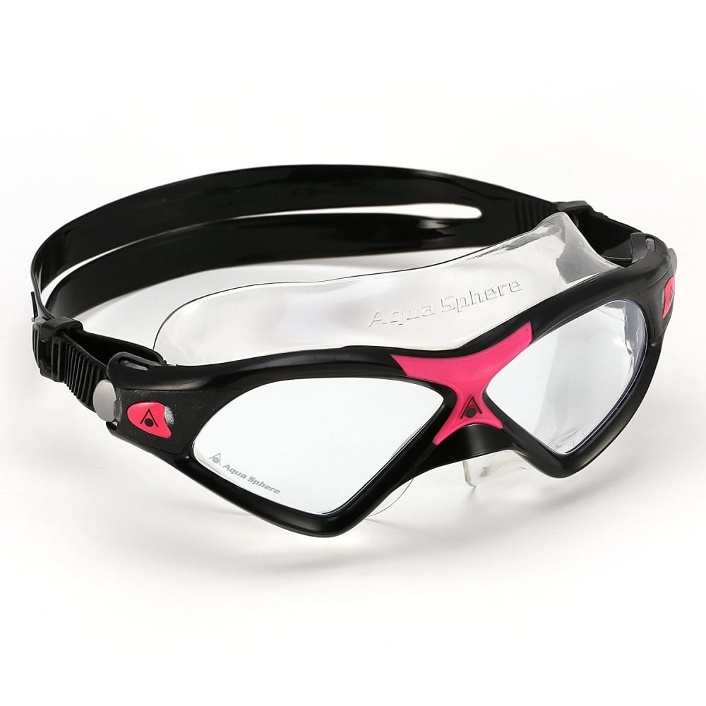 de7a170eaefd0 Aqua Sphere Seal Kid 2 Clear Black/Pink - Swimming from The Edge ...