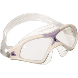 Aqua Sphere Seal XP 2 Lady - Clear lens - White/Lavender