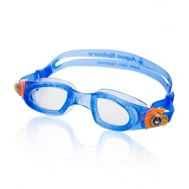 Aquasphere Moby Kid BluOrg/ Clr Lens