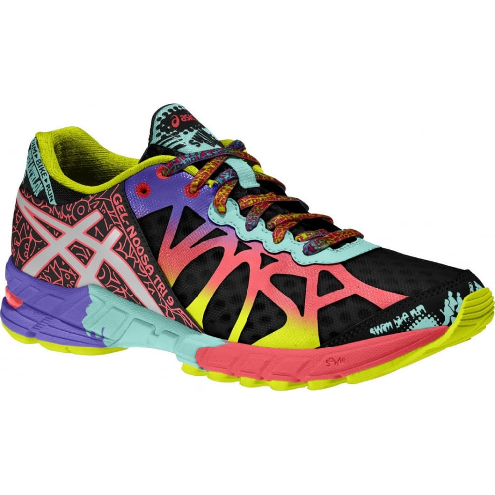 uk availability e6dbe 6b6fe ... running shoes flash yellow neon purple navy adc36 b2c29  release date asics  gel noosa tri 9 3bcad 0229f