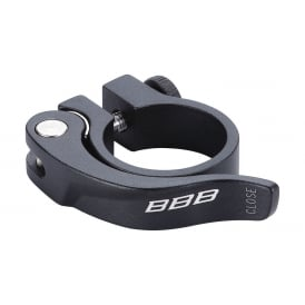 BBB BSP-87 Seat Post Clamp 31.8mm Smooth Lever Quick Release
