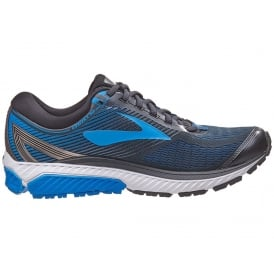 BROOKS Men's Ghost 10 2E-Wide Black/Blue