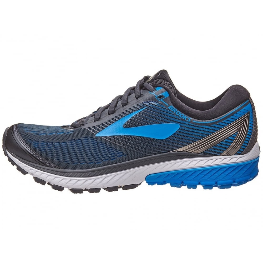 c7a4e395ecc BROOKS Men s Ghost 10 2E-Wide Black Blue - Running from The Edge ...