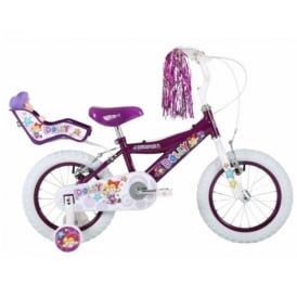 Bumper Dolly 12'' Purple/White