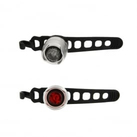 Cateye Orb Set Front and Rear Light