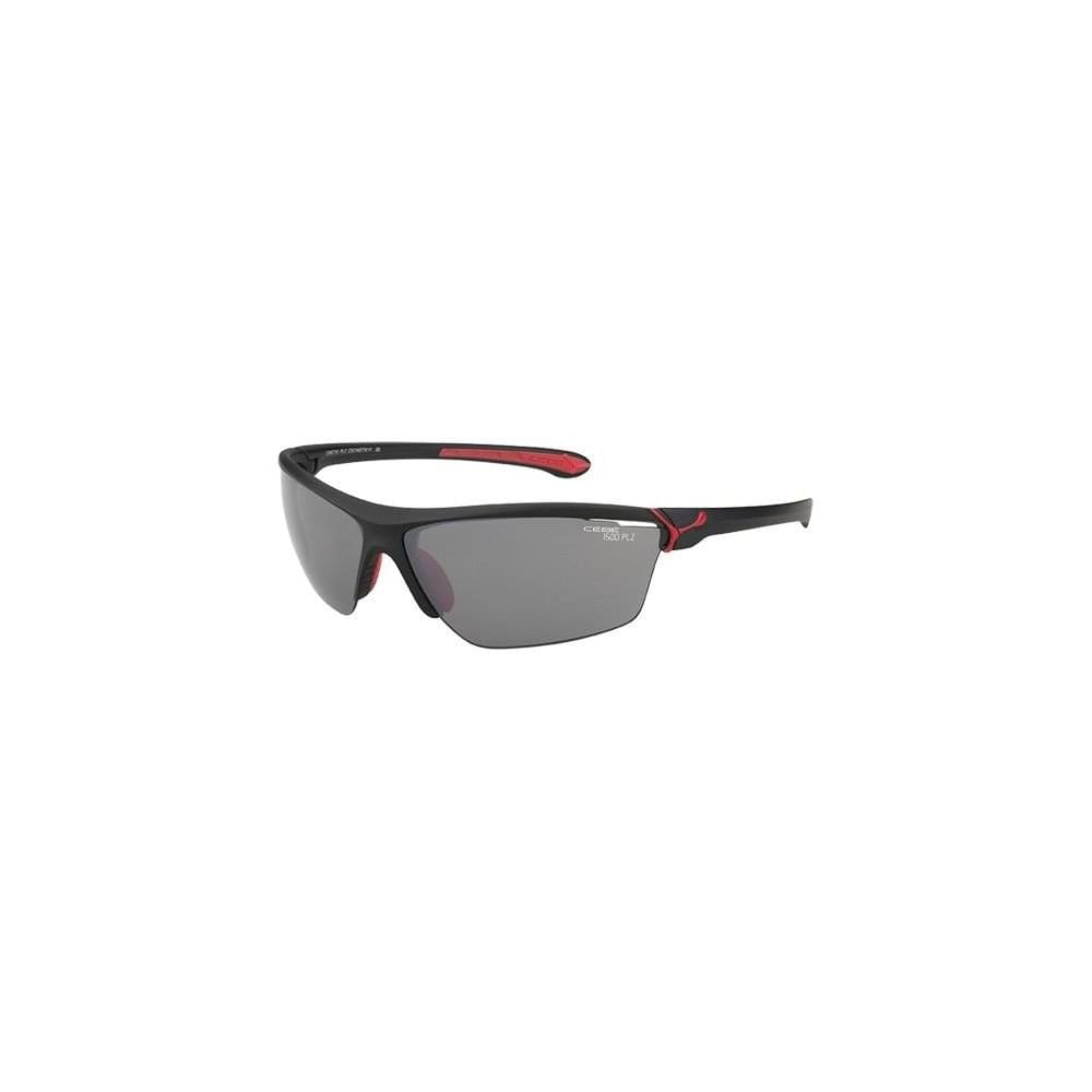 1acb4d0b1cb6b Cebe Cinetik Sunglasses Lenses 1500 Grey Matt Black Red - Cycling ...