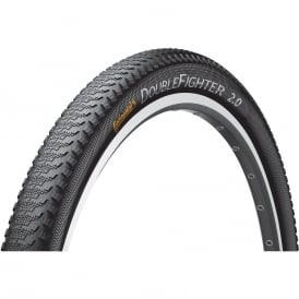 Continental Double Fighter 29 x 2.0 III Urban Mountain Bicycle Tire - Wire Bead