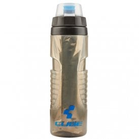 Cube Bottle Thermo 0.6L Black/Grey/Blue