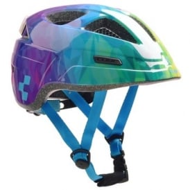 Cube Pro Junior Helmet Polygon Rainbow