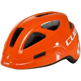 Cube Pro Orange Junior Helmet