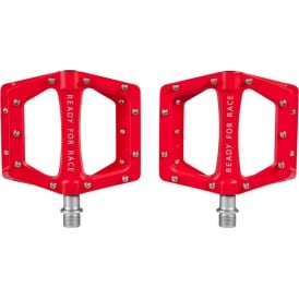 Cube RFR Pedal Flat Race Red