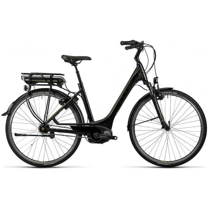 Cube Travel Hybrid 400 EE Black 2016