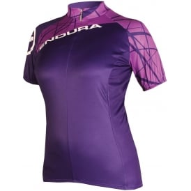 ENDURA Women's Singletrack Short Sleeve Cycling Jersey
