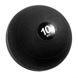 Fitness Mad 10Kg Slam Ball Black