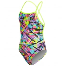 Funkita Girls' Strapped In One Piece Swimsuit