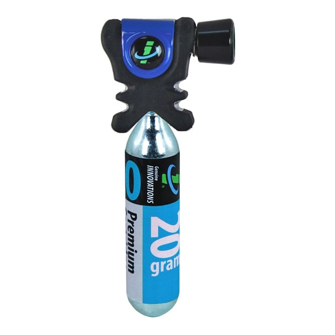 Genuine Innovations Geniune Innovations Air Chuck Plus Co2 Inflator Black/Blue