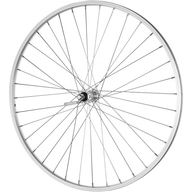 JHI Mach 700c Front Wheel in Silver - Quick Release