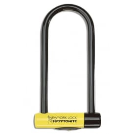 Kryptonite New York 16mm Long Shackle U-Lock Black/Yellow