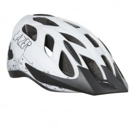 Lazer J1 Youth Helmet - White Kitten