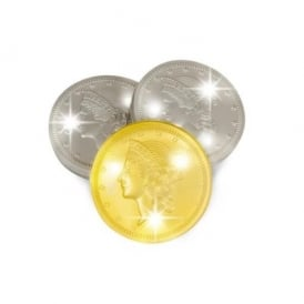 Maru Flashing Coins - Gold and Silver