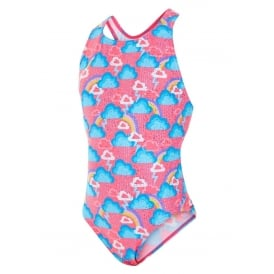 MARU Girls Cloudburst Rave Back Swimsuit