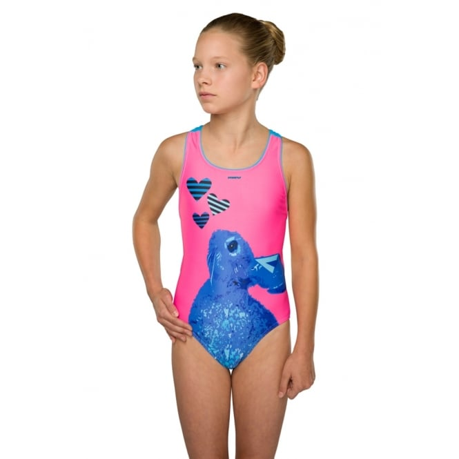 MARU Girls Sweetheart Pacer Rave Back Blue/Pink