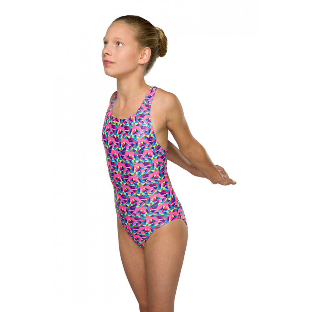 9cd2b47080e25 MARU Junior Girls Hummingbird Sparkle Rave Back - Swimming from The ...
