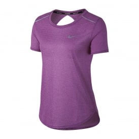 Nike Breathe Women's Short Sleeve Running Top