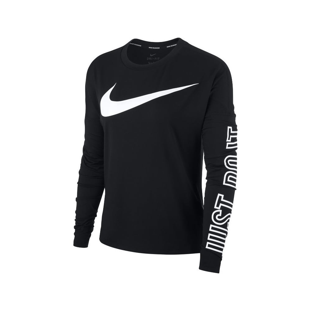 Nike Dri-FIT Element Women s Long-Sleeve Running Top - Running from ... 93a5b956b