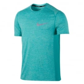 Nike Dry Miler Men's Short-Sleeve Running Top
