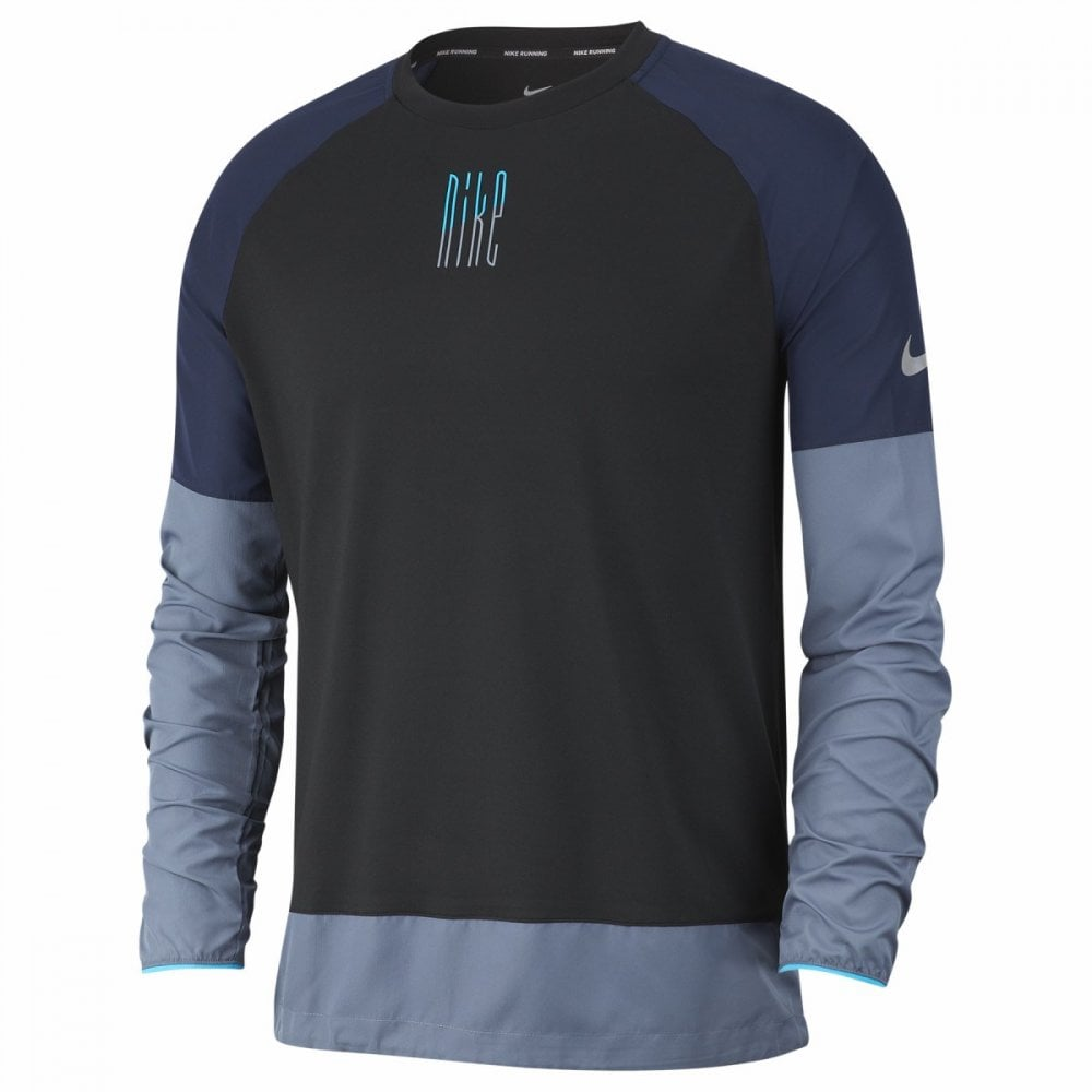 b84e6d8c Nike Element Men's Long-Sleeve Running Top - Running from The Edge ...