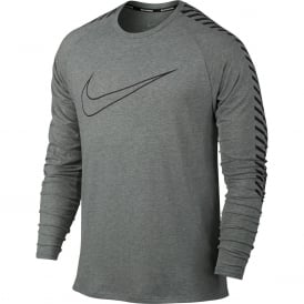 Nike Men's Breathe Long Sleeve Top