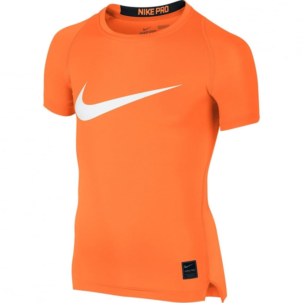 nike pro cool hbr compression boys 39 shirt running from. Black Bedroom Furniture Sets. Home Design Ideas