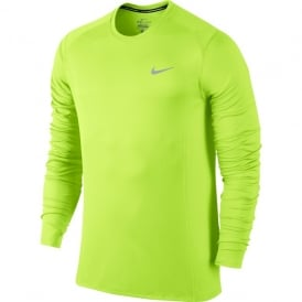 Nike Running Dri-FIT Miler Long Sleeve Top In