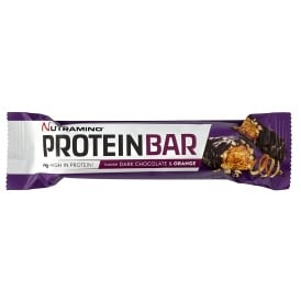 Nutramino Dark Chocolate and Orange Protein Bar 47g
