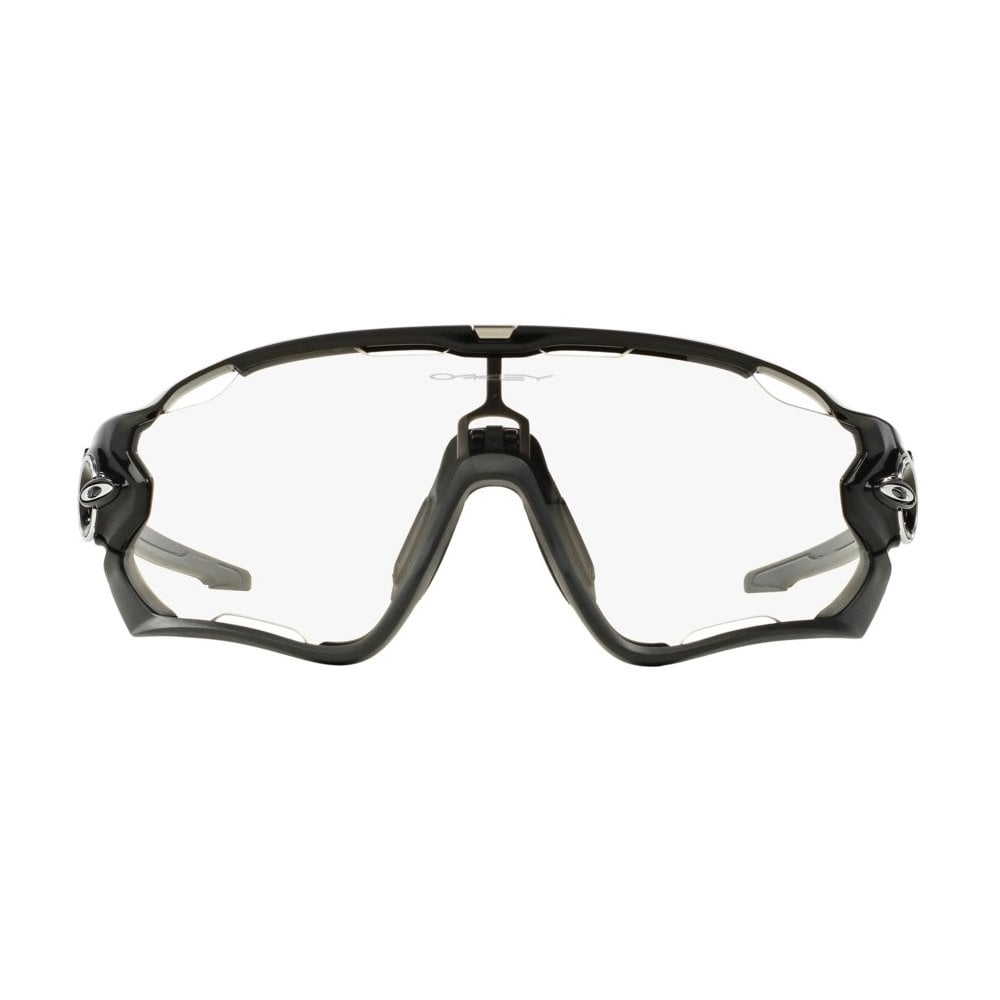 c072636876 OAKLEY Jawbreaker® Polished Black Clear Black Iridium Photochromic ...