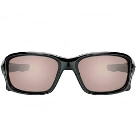 OAKLEY Straightlink Polished Black with Prizm Daily Polarized Lens
