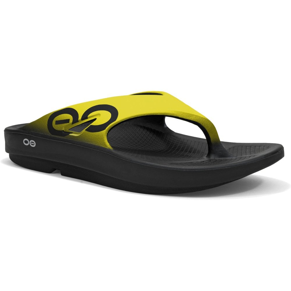 8c94ac9e344 Oofus Oofos Ooriginal Sport Sandal Yellow - Running from The Edge ...