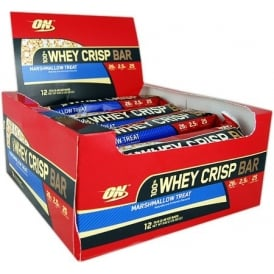 Optimum Nutrition 100% Whey Crisp Box