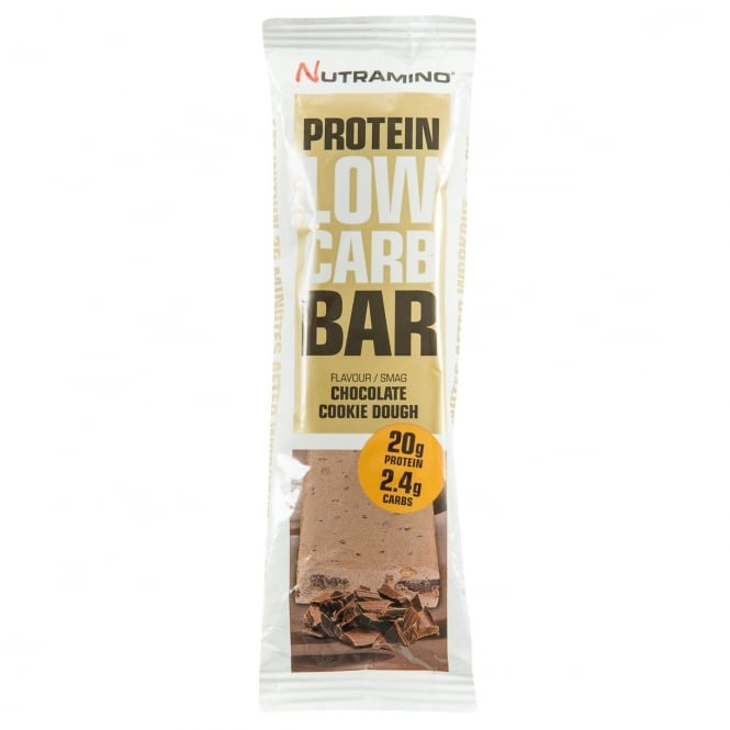 Optimum Nutrition Nutramino Protein Low Carb Bar, Chocolate Cookie Dough