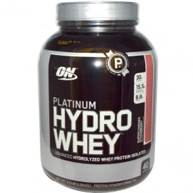 Optimum Nutrition Platinum HydroWhey Supercharged Strawberry 3.5 lbs