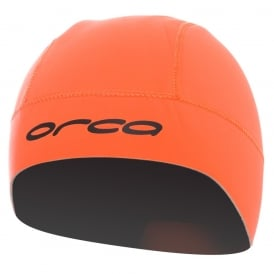 ORCA Neoprene Swim Hat Orange