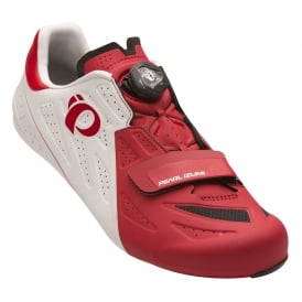Pearl Izumi Men's Elite Road V5 White/Red