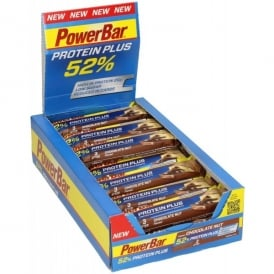 PowerBar 52% ProteinPlus Bar Chocolate Nut Box of 24